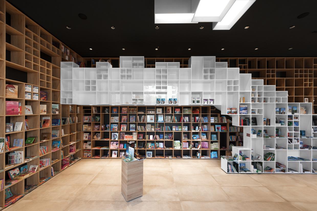Tržaško Knjižno Središče – INTERIER